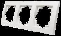 Rahmen McPower Flair, 3-fach, weiß