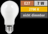 LED Filament Glühlampe McShine Filed, E27, 7W, 720...