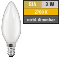 LED Filament Kerzenlampe McShine Filed, E14, 2W, 180 lm,...