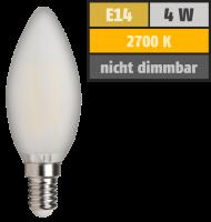 LED Filament Kerzenlampe McShine Filed, E14, 4W, 370 lm,...