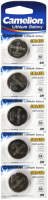 Knopfzelle CAMELION, CR2450 3,0V, Lithium, 5er-Blister