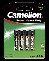 Micro-Batterie CAMELION Super Heavy Duty 1,5 V, Typ AAA,...