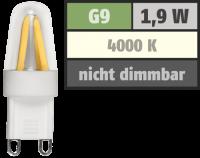 LED-Stiftsockellampe Filament McShine Silicia, G9, 1,9 W,...