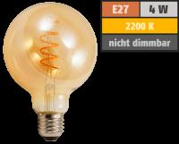 LED Filament Globelampe McShine Retro E27, 4W, 280lm,...