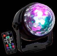 LED-Lichteffekt HOLLYWOOD LE-025 7 Farben, 4...