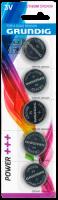 Lithium-Knopfzelle GRUNDIG CR2430, 3V, 5er-Blister