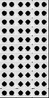 Rahmen McPower Flair, 2-fach, weiß, 33er-Pack