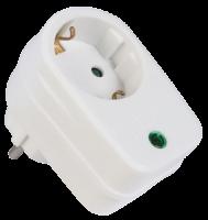 Steckdosenadapter mit Überspannungsschutz Surge-Pro