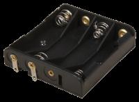 Batteriehalter 4x Micro (AAA)