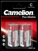 Baby-Batterie CAMELION Plus Alkaline 1,5 V, Typ C/LR14,...