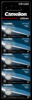 Knopfzelle CAMELION, CR1225 3,0V, Lithium, 5er-Blister