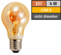 LED Filament Glühlampe McShine Retro E27, 4W, 280lm,...