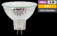 LED-Strahler McShine ET40, MR16, 4W, 320lm, warmweiß