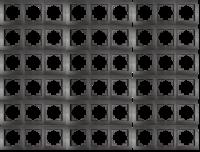 Rahmen McPower Flair, 3-fach, anthrazit, 18er-Pack