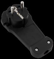 Schutzkontakt-Winkelstecker McPower extra flach,...